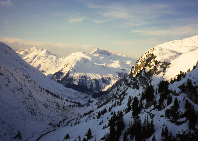 View toward Lech