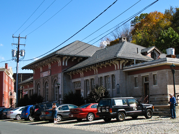 Old Staunton Train Station