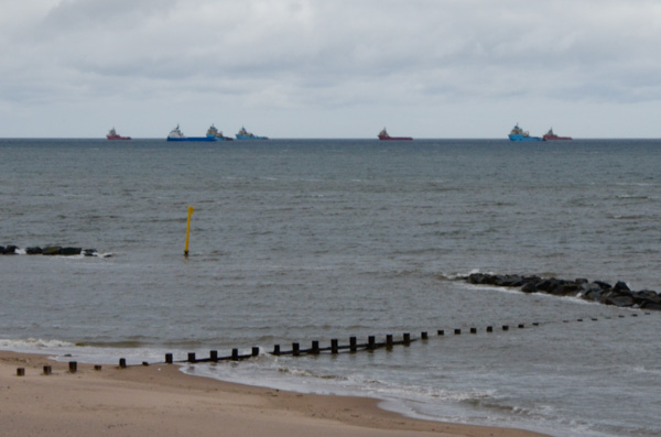 North Sea Supply Ships