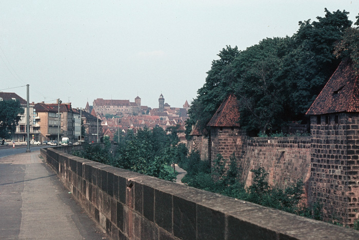 Nuremburg City Wall