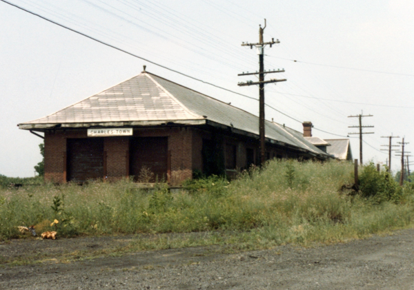 Charles Town train station
