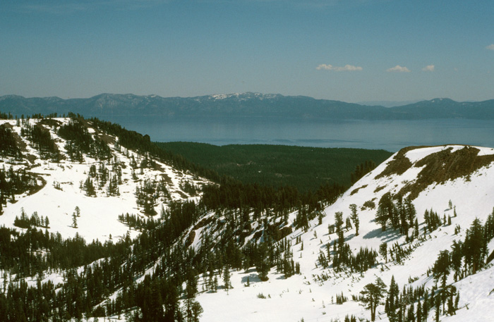 Lake Tahoe from Ward Peak