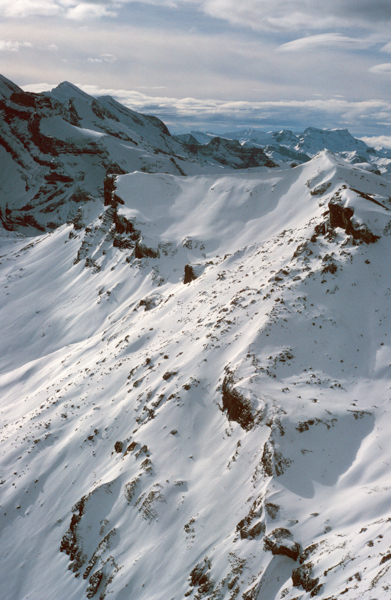 View from the Schilthorn