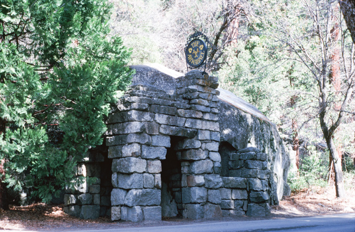 Ahwahnee Entrance
