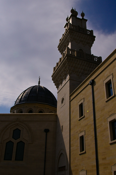 Islamic Centre of Oxford - tower