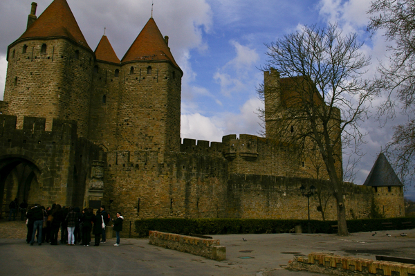 Carcassonne city walls