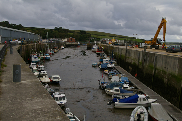 Padstow outer harbor