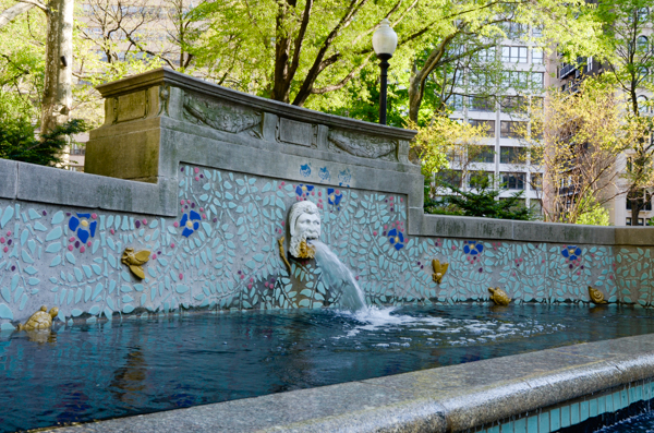 Rittenhouse Square Fountain