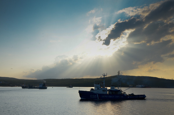Harbor boats - Murmansk