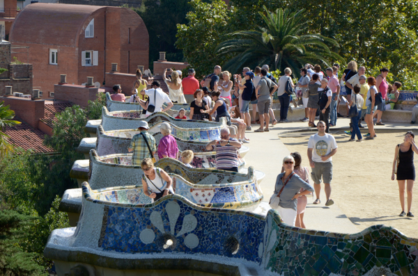 Park Guell Plaza