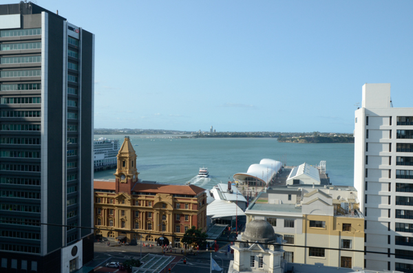 Auckland Harbor Overview