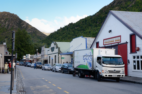 Arrowtown business district