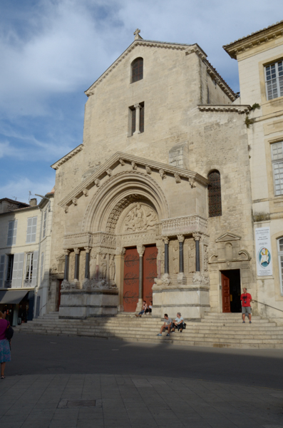 The Church of Saint-Trophime