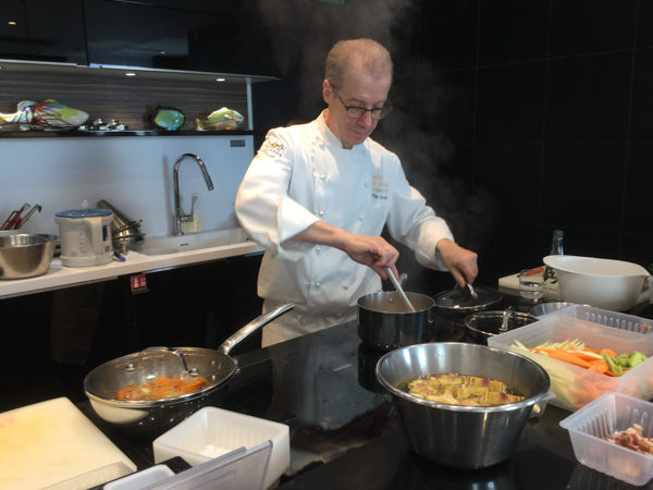 Chef Philippe Jousse