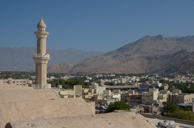 Nizwa overlook