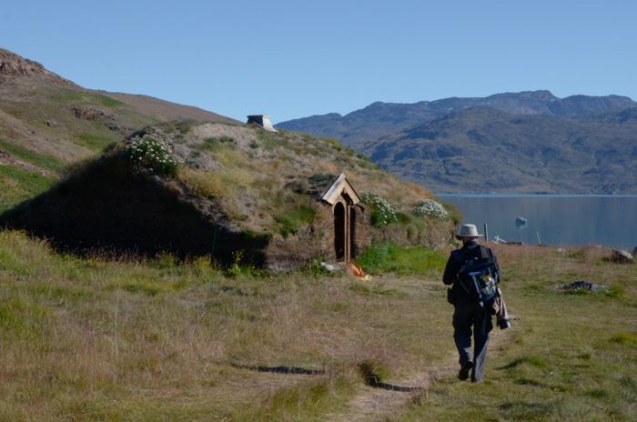 Norse Longhouse, Brattahlid, Greenland