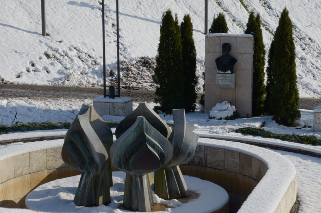Monument to Dubcek